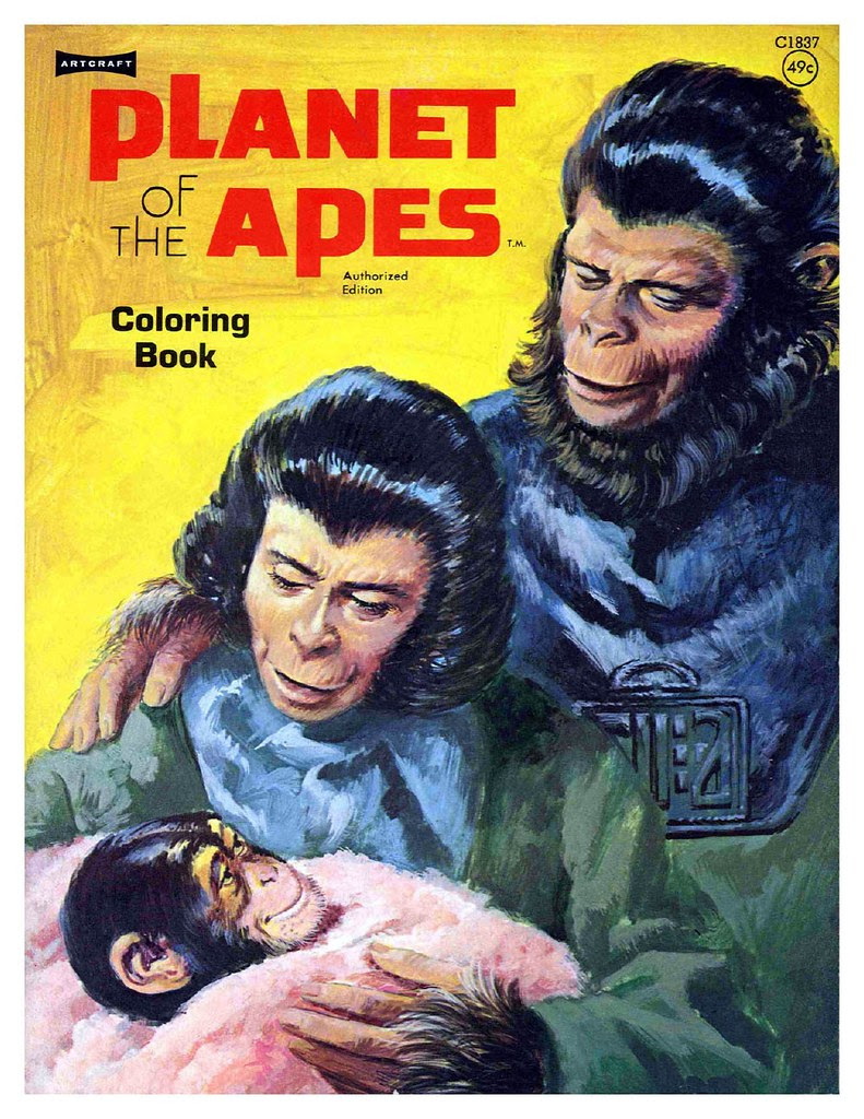 Planet of the Apes Coloring Book 0100001