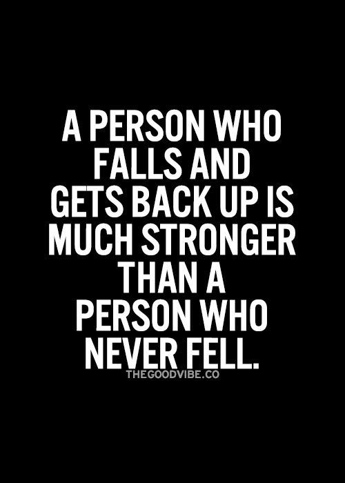 Quotes About Getting Back Up 70 Quotes