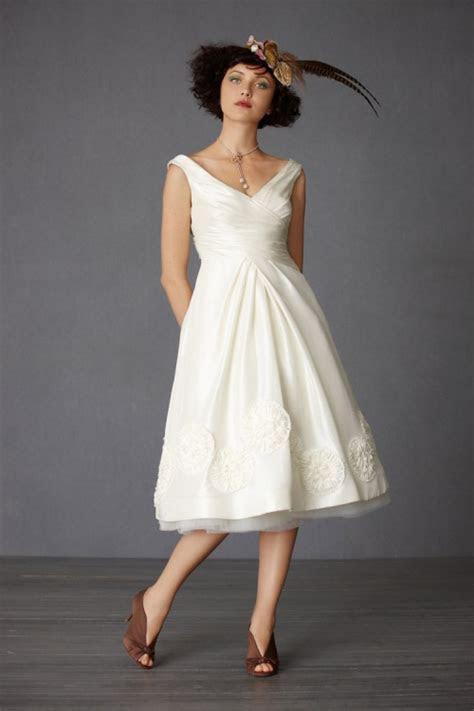 country tea length wedding dresses 2013
