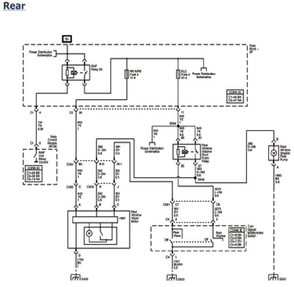 2000 Pontiac Montana Starter Wiring Diagram
