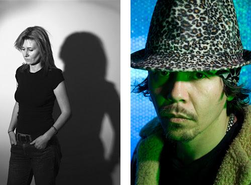 Semi Noir musician portrait and 'New Noir' portrait and Headshot.