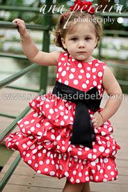 Vestido Minnie