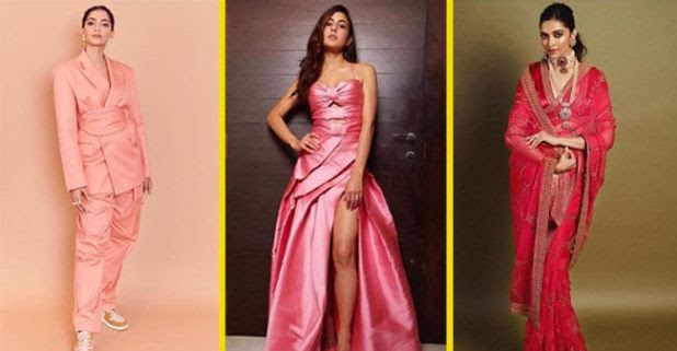 Sara Ali Khan to Sonam Kapoor, actresses prove pink is the new trendy color