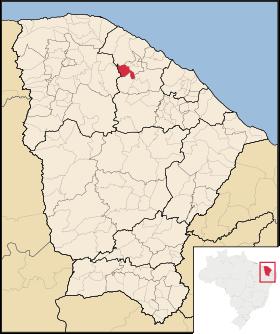 Localização de Itapajé
