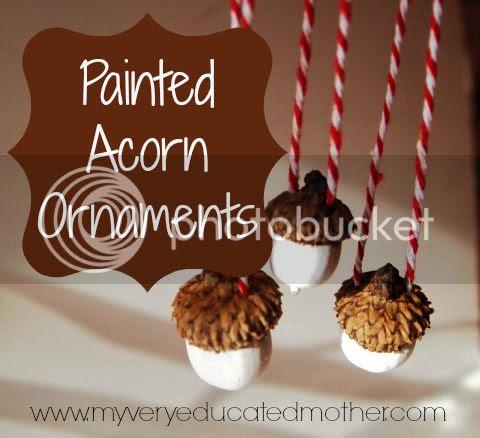 #NUO2013 #AcornOrnaments #Christmas #ornaments