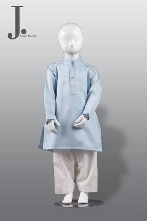 Kids-Child-Wear-Kurta-Shalwar-Kameez-New-Fashionable-Clothes-Collection-2013-by-Junaid-Jamshed-1