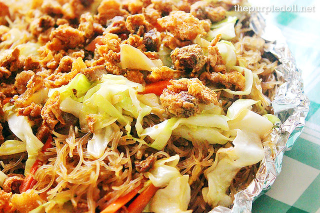 Three Sisters' Restaurant Pancit Bihon Pop Talk