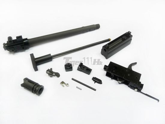 WE SCAR GBB Open-Chamber System Conversion Kit Set