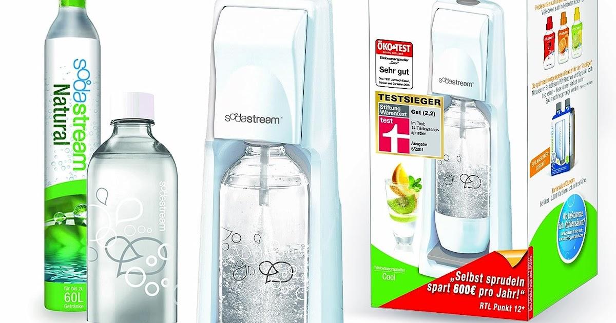 sodastream 1211112492 trinkwassersprudler cool inklusiv 2 x 1 liter pet flasche super meiner. Black Bedroom Furniture Sets. Home Design Ideas