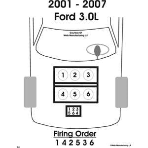 Help What Is The Firing Order For The 3 0l Vulcan In My Taurus Taurus Car Club Of America Ford Taurus Forum