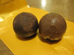 Godiva Extra Dark and Hazelnut Gelato
