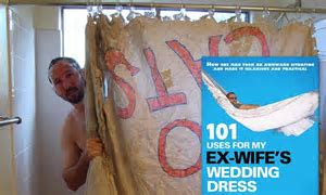 101 uses for my ex wife's wedding dress: Husband turns
