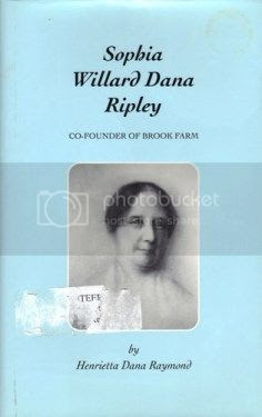 book about Sophia Ripley at Brook Farm