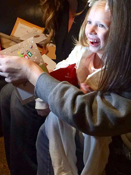Girl, 6, with Fatal Illness Gets Hundreds of Thousands of Christmas Cards