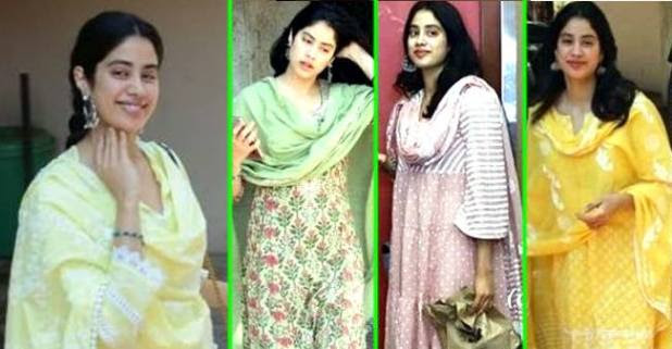 Janhvi Kapoor Always Gives Fashion Statement In Her Casual Wears