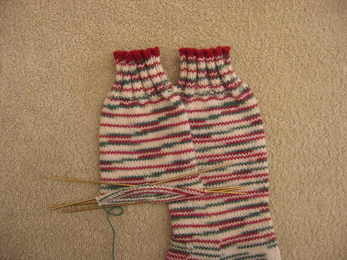 2nd Country Christmas sock