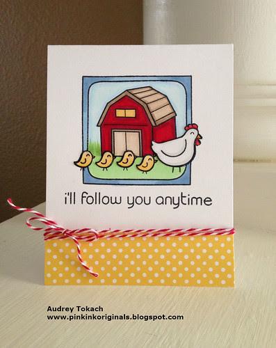 I'll follow you...