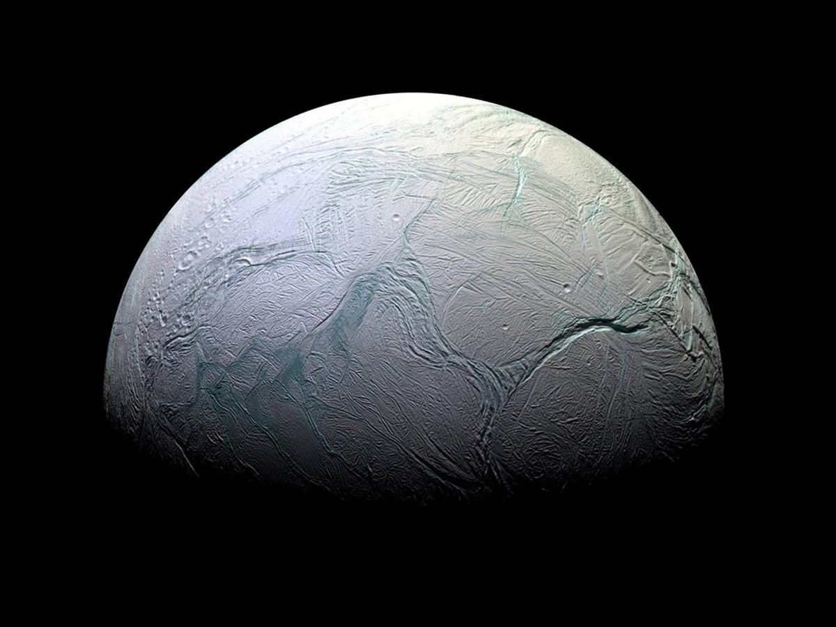 The star of the Cassini mission was Enceladus: a small, ice-encrusted moon that hides an ocean.