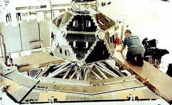 Uno de los satélites del proyecto Vela