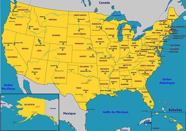 Karte Usa.Usa Karte World Of Map