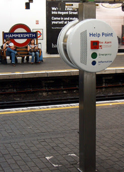 Help Point at Hammersmith