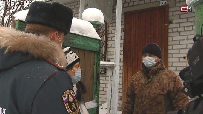 В дачные кооперативы Сургута отправились сотрудники МЧС