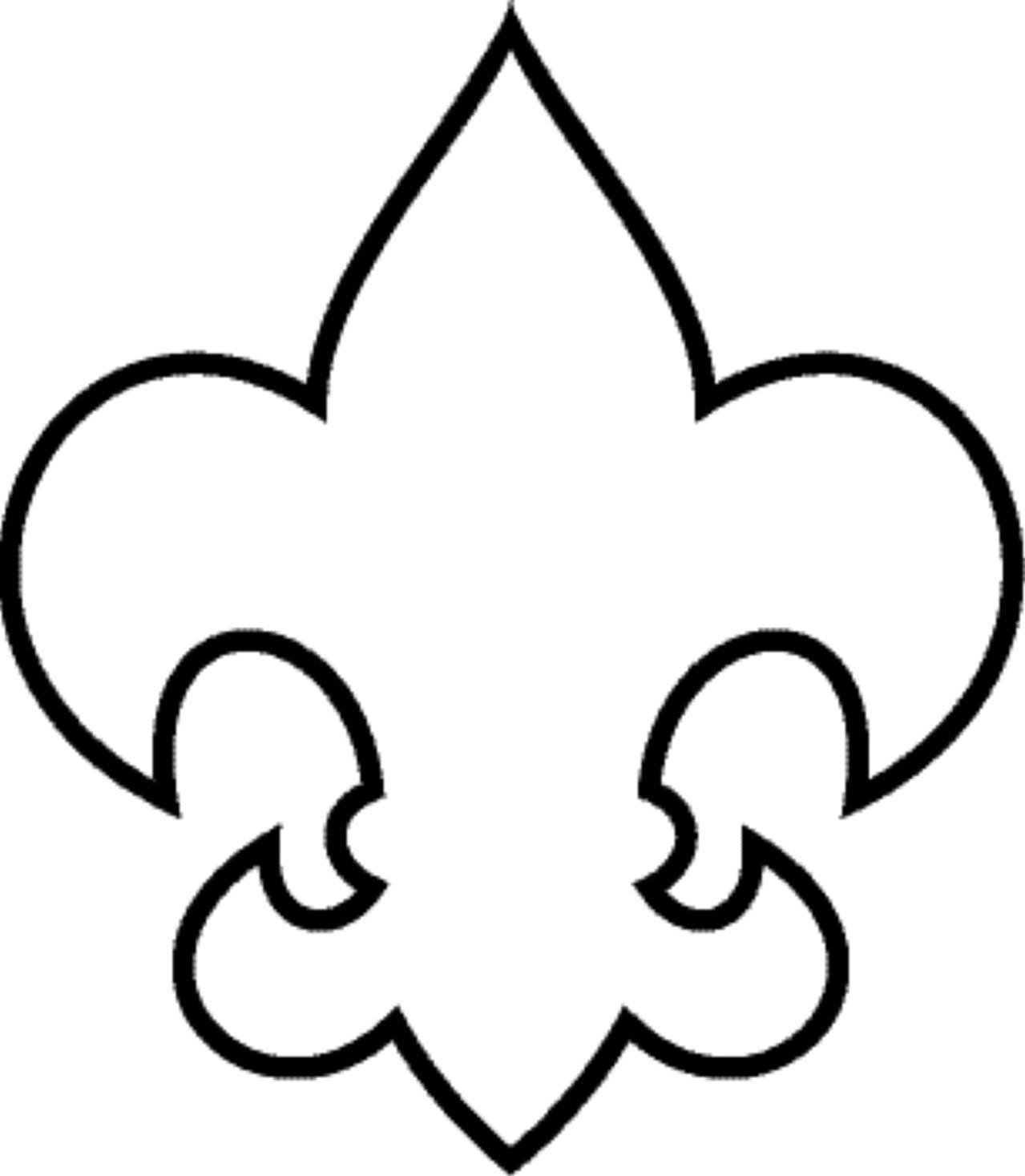 Boy Scout Clip Art Fleur De Lis Clipart Vector Design