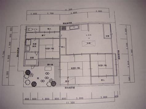 simple linear japanese home design plans okinawa house