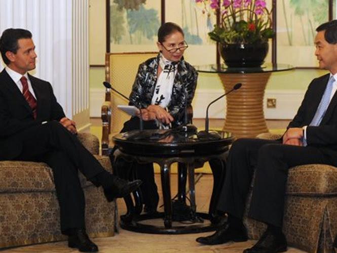 El presidente Enrique Peña Nieto llegó a Hong Kong en el marco de una visita oficial. Foto Reuters