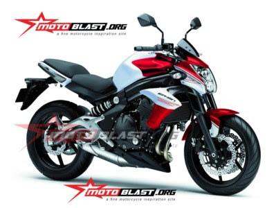 Kawasaki ERn Merah Putih Seperti Yamaha New Vixion Lightening Gak