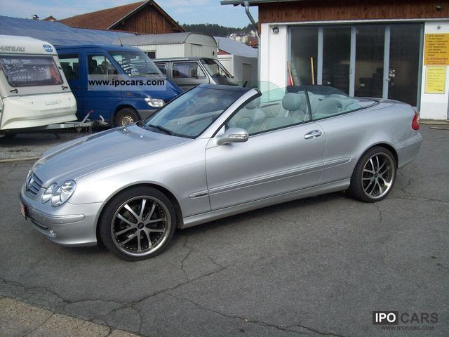 2004 Mercedes-Benz CLK 320 Elegance - Car Photo and Specs