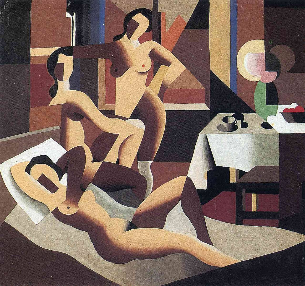 Three nudes in an interior, 1923Rene Magritte