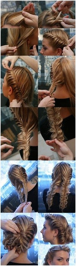 Braided Updos for Long Hair, Prom Hair Styles I just love this. Sophisticated and still romantic