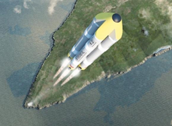Cohete Neptune.