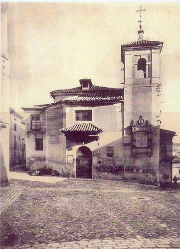 Iglesia de El Salvador de Toledo a principios del siglo XX