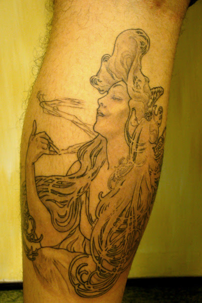 My Mucha's Job Tattoo. My Mucha's Job Tattoo
