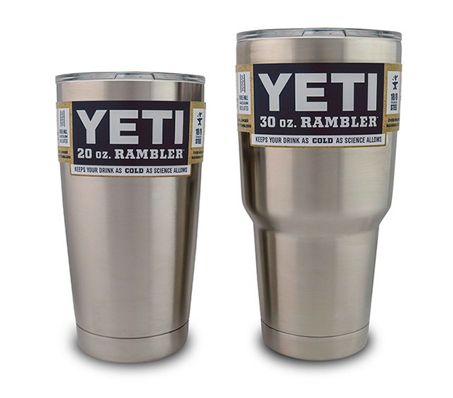 Yeti Rambler Vs Tervis Tumbler Test And Review Headhunters Fly Shop