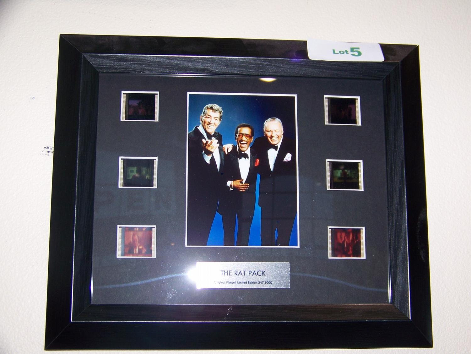 The Rat Pack Original Film Cell Limited Edition 2471000 Framed