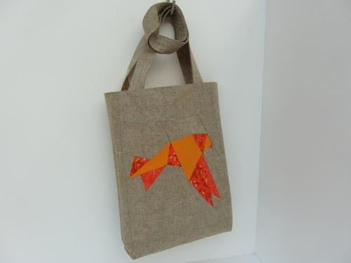 Origami Vogel Tasche