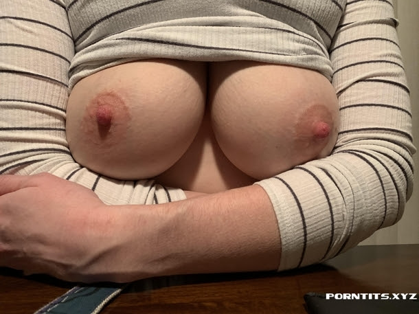 Wife showing off