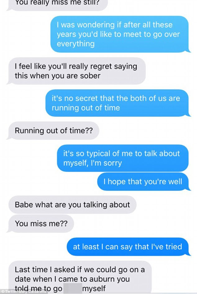 Woman pranks her ex with the lyrics to Adeleu002639;s Hello and posts the exchange on Twitter  Daily
