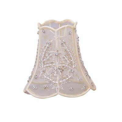 Crystorama Sequined Beaded Mini Chandelier or Wall Sconce Shade ...