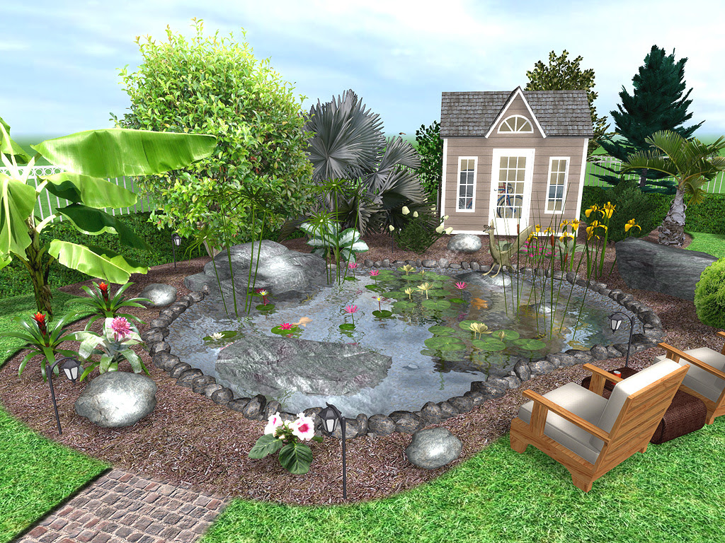 Waterfall Landscape Design Software Home Landscaping Ideas