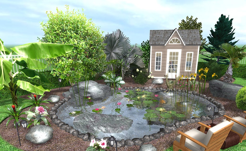 Secret Landscaping: Pools and landscaping ideas grassless ... on Grassless Garden Ideas id=78690