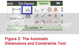 autodimensions tool