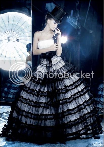 black wedding dress but do not leave the impression of feminine