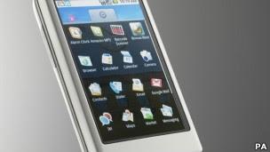 Vírus criado em laboratório afeta telefones que usam sistema Android (Foto: Da BBC)