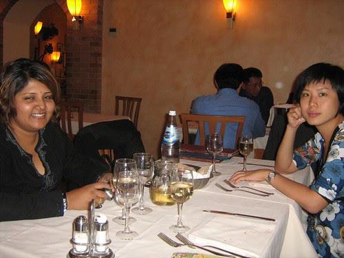 Mui and Maha in Casa Mia