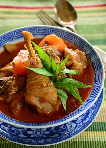 Asam Pedas Ayam Melaka Tak Perlu Letak Share Masakan Share Resepi Facebook