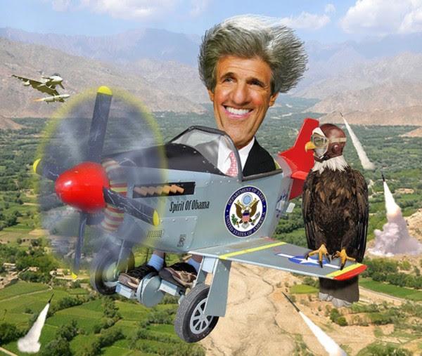 Kerry ao resgate